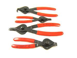 CPLSR4PB 4 pc Snap Ring Plier Set