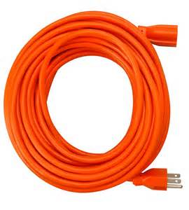 02559 100 ft 12/3 Heavy Duty Outdoor/Grounded Extension Cord Safety Orange Color