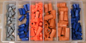 WS107 107 pc. Assortment Wire Connector (comes in plastic case)