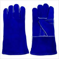 1439 Large Blue Welders Glove (sold by 1 Dozen)