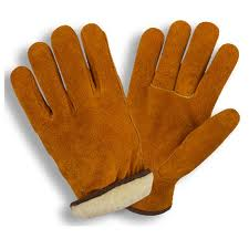 Cowhide Pile Lined Gloves XL