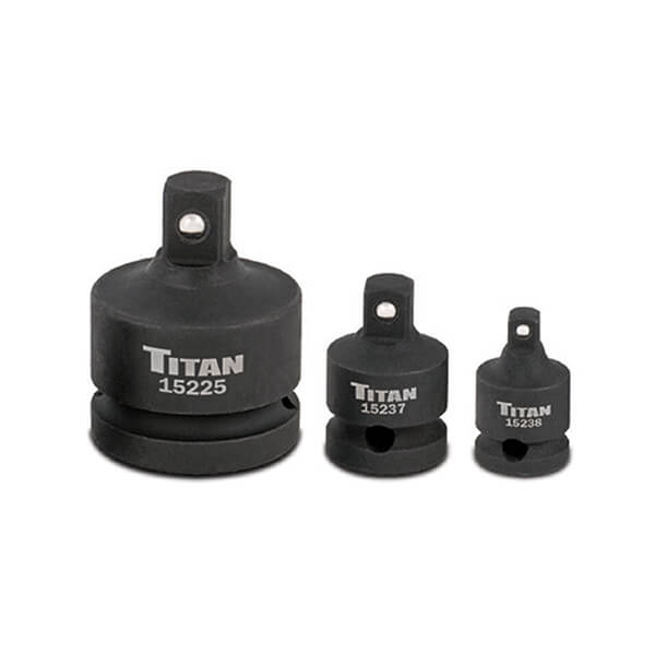 12036 Titan 3 pc Impact Reducer Adaptor Set