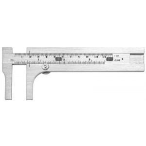 424 Starrett Circumference Gage and Slide Caliper