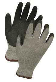 4729 String Knit Gloves Latex Coated (sold by 1 dozen)