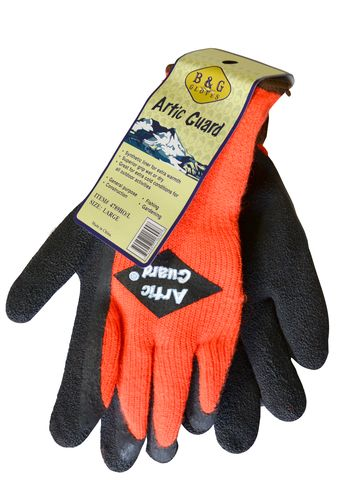 ARCTIC GUARD GLOVES SIZE LARGE