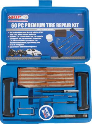 52130 GRIP 60 pc Premium Tire Repair Kit