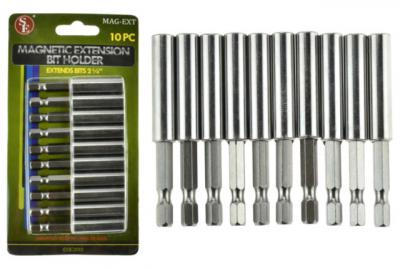 MAG-EXT 10 pc Magnetic Extension Bit Holder 1/4