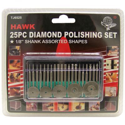 TJ6525 25 pc Diamond Polishing Set 1/8